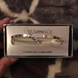 New in the box, Swarovski crystal charm bracelet!